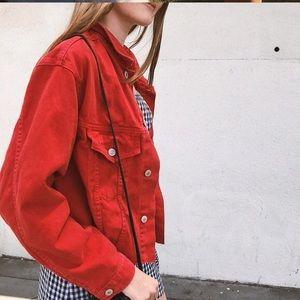 Brandy Melville Jackets & Coats - Brandy Melville denim jacket